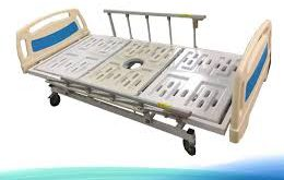 تخت بیمارستانی لگن خور