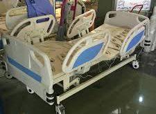 تخت بیمارستانی سه شکن