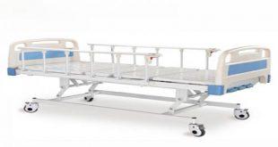 تخت بیمارستانی سه شکن برقی