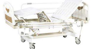 تخت بیمارستانی تک شکن